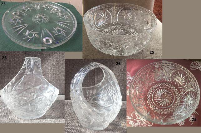 Kryształy - wazony, misy, miseczki, patery