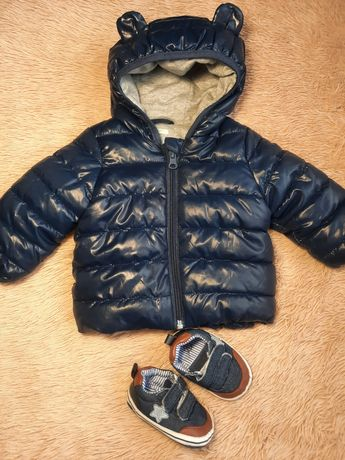 Куртка демесизона 3-5міс, та пінєтки