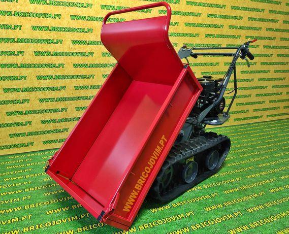 Transportadora de Mercadorias com Lagartas -4 velocidades - Basculante