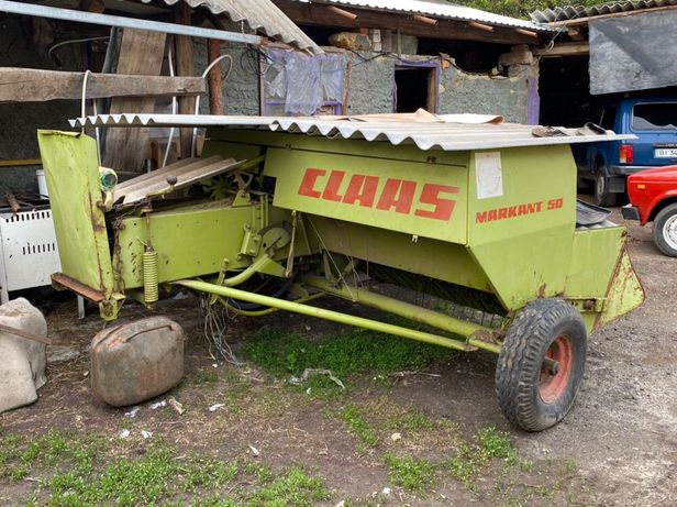 Тюкувалка CLAAS markant 50