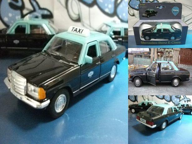 Carro de colecção 1:38 Táxi do Porto Mercedes-Benz 230E 1985 Welly