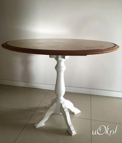 Stół vintage wysoki okrągły