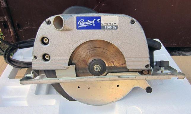 Пилка ручна дискова електрична Е-513А