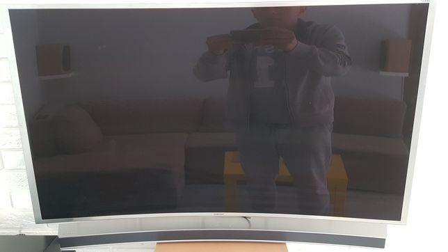 Tv Samsung 48 cali smart wygięty + soundbar