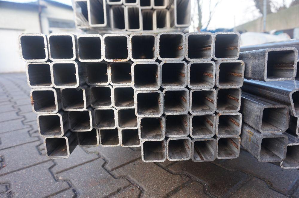 Profil kwadrat nierdzewny, magnetyczny 50 x 50 x 4mm Toruń - image 1
