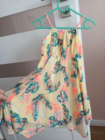 Letnia sukienka  h&m