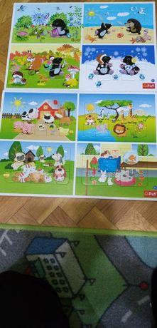 Puzzle 8 obrazkow