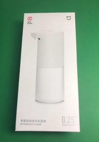 Бесконтактный дозатор / диспенсер для мыла Xiaomi Mijia + мыло + акб