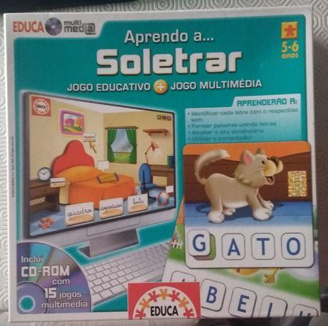 Jogo Soletrar Educa Multimédia