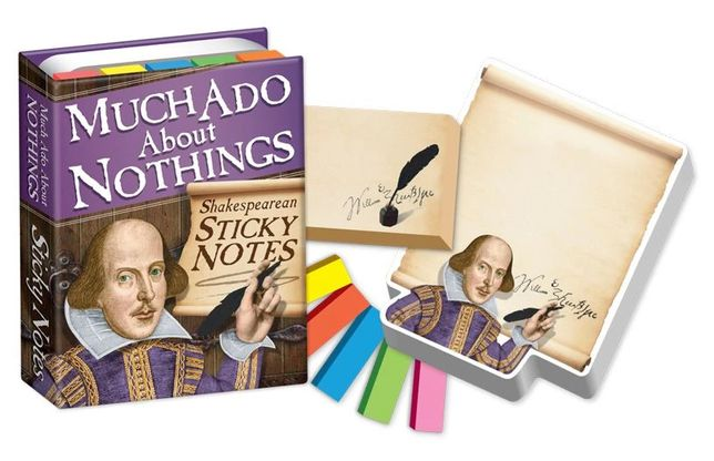 Marcadores autocolantes (Sticky Notes) Shakespeare