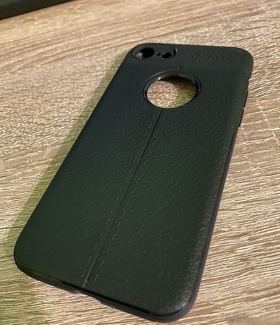 Etui case iPhone 7 8 Nowe Skórzano-gumowe