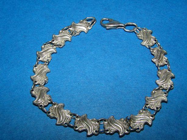 Стильное серебряное украшение 925 пробы . Браслет, Цепочка. Крестик