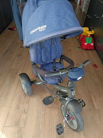 Велосипед коляска трёхколёсный с капюшоном Crosser