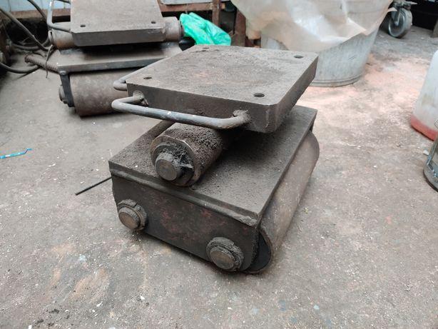 Wózki platforma do transportu maszyn 12t 5 sztuk Bardzo solidne