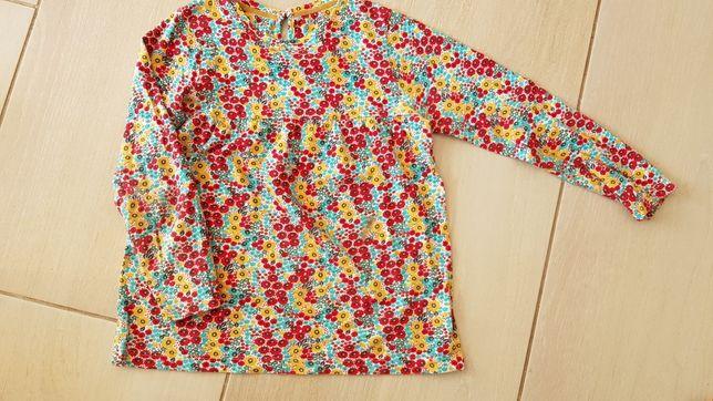 Bluzeczka kwiatki łączka r.110