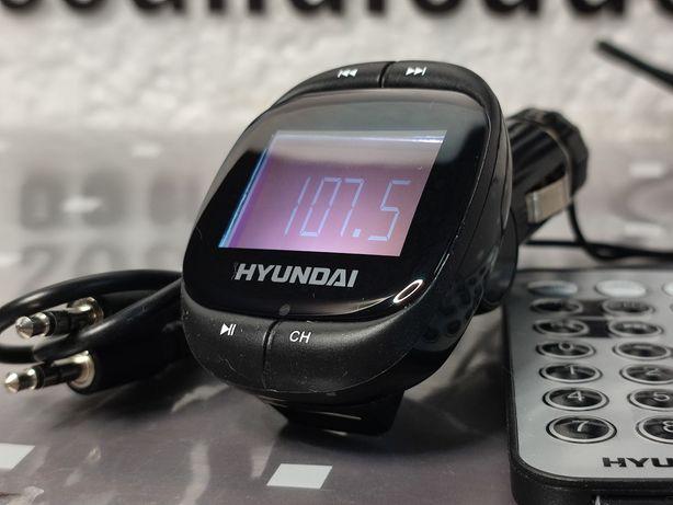 HYUNDAI transmiter FM 12-24V LCD odtwarzacz MP3 ładowarka USB equalize