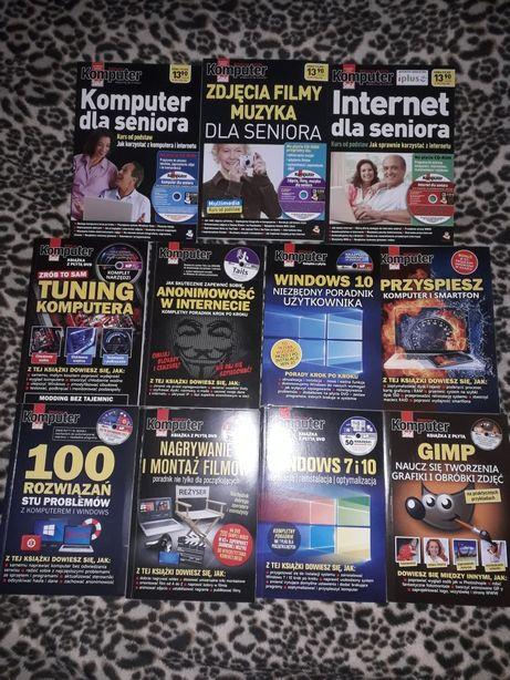 Zestaw książek-Biblioteczka Komputer Świat