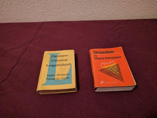Dicionário de bolso baratos: Língua Portuguesa e Inglês-Português