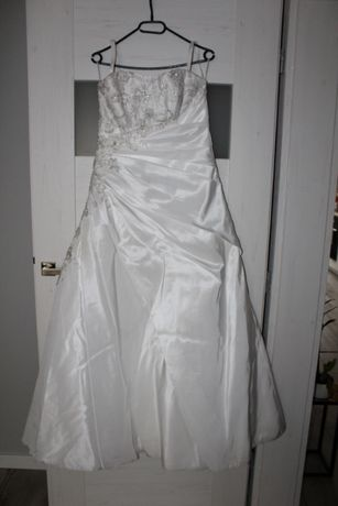 suknia ślubna biała 40