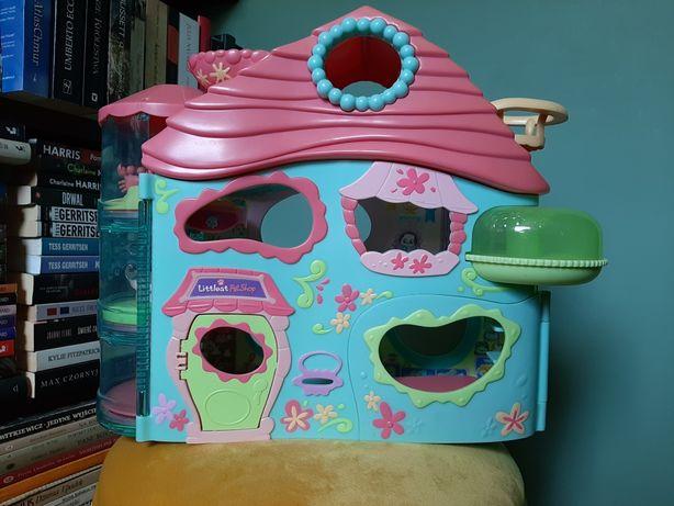 duży domek littlest pet shop + 8 figurek gratis