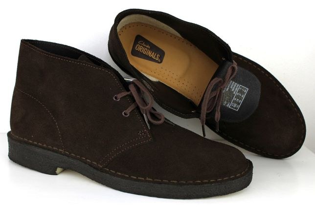 Clarks ORYGINALS buty męskie SKÓRA NAT r 41 NOWE -60%