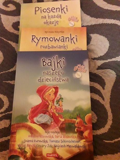 Bajki i, rymowanki z płytami cd