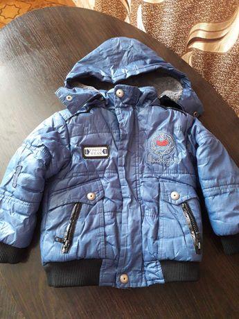 Детская куртка на мальчика