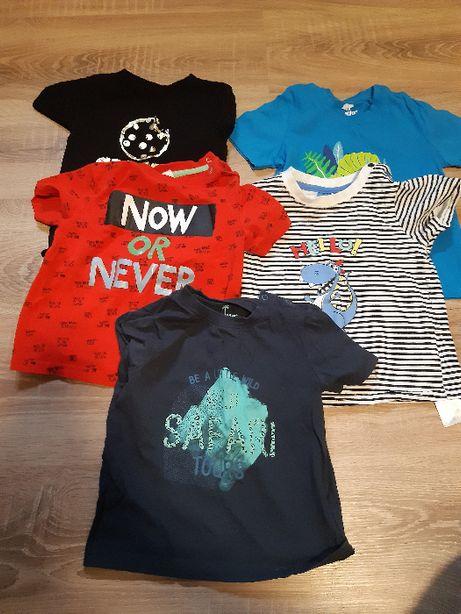Bluzki (t-shirty) chłopięce, rozmiar 86 i 92