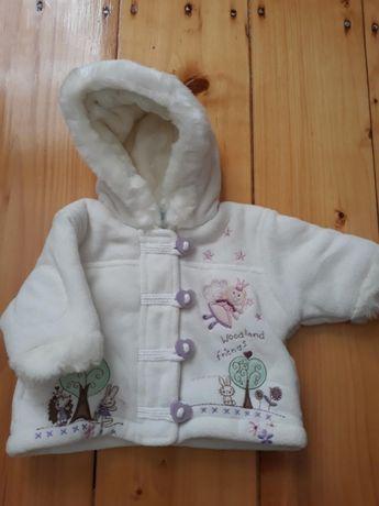 Куртка- шубка, куртка зимняя нова 0-3міс