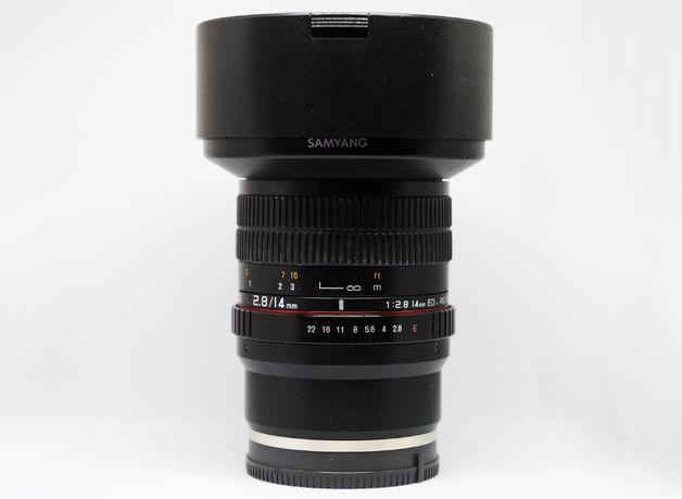 Samyang 14mm F2.8 ED AS IF UMC Sony E