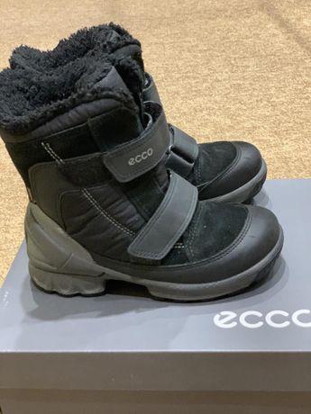 Зимові черевики/зимние ботинки ecco biom/екко/еко 28