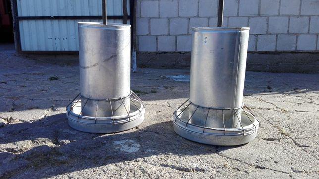 Pasznik paśnik karmnik karmidło dla kur drobiu 18kg aluminiowy