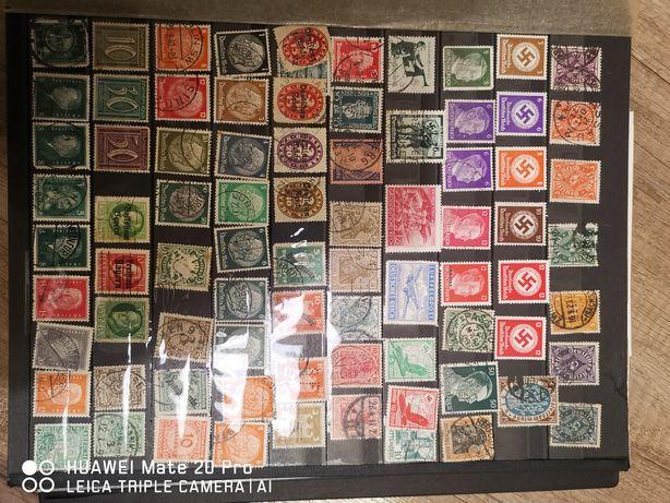 Stare niemieckie znaczki pocztowe