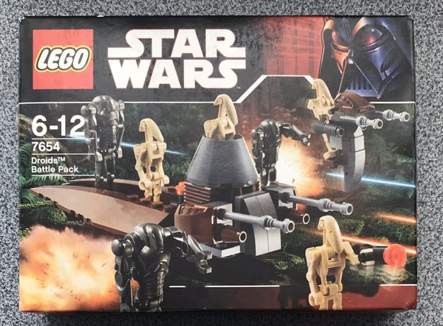 LEGO Star Wars ЛЕГО Звездные Войны дроиды