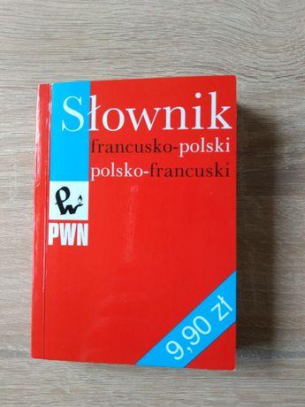 Słownik polsko-francuski francusko-polski PWN