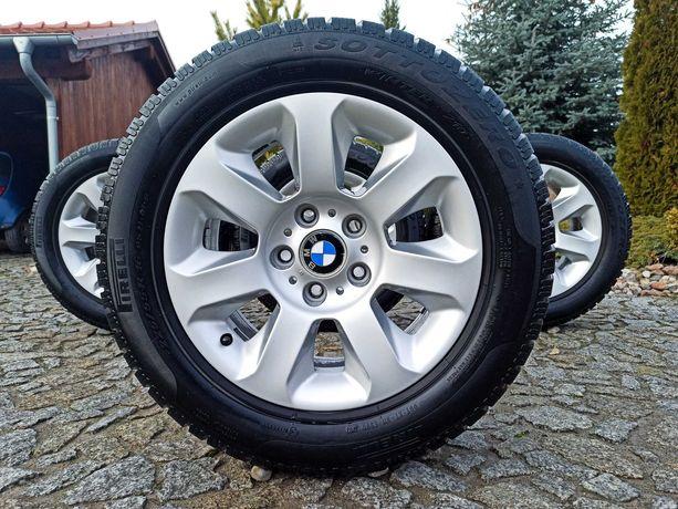 """Alufelgi BMW 16"""" 5x120 E60  + opony Pirelli 225/55R16"""