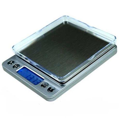Ювелирные электронные весы с 2мя чашами 0,01-500гр 0.5 кг
