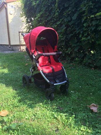 Wózek Britax B-MOTION 4 czerwony + ochraniacz na nogi