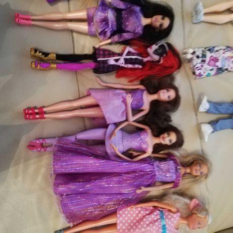 16 szt lalki Barbie z akcesoriami