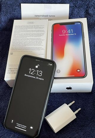 Iphone X 256 Gb (офиц.) Space Gray