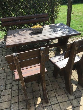 Zestaw mebli ogrodowych z litego drewna.Meble ogrodowe/zestaw ogrodowy