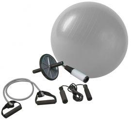 Zestaw rehabilitacyjny do ćwiczeń , fitness, piłka gimnastyczna 65cm