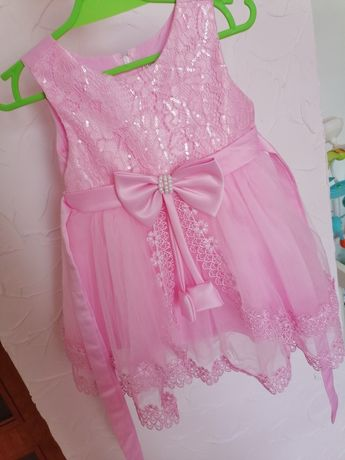 Sukienka elegancka na roczek