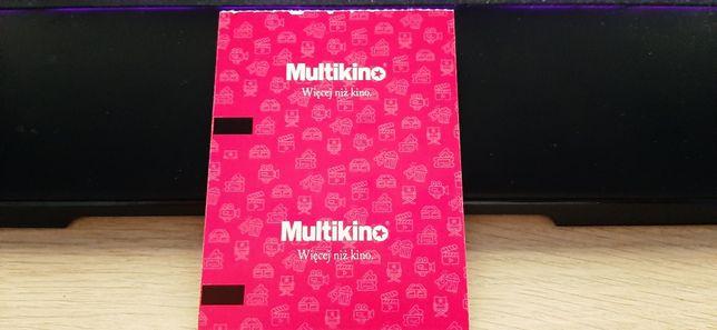 Bilety Multikino - 2D  x 2 szt. Miejsca VIP