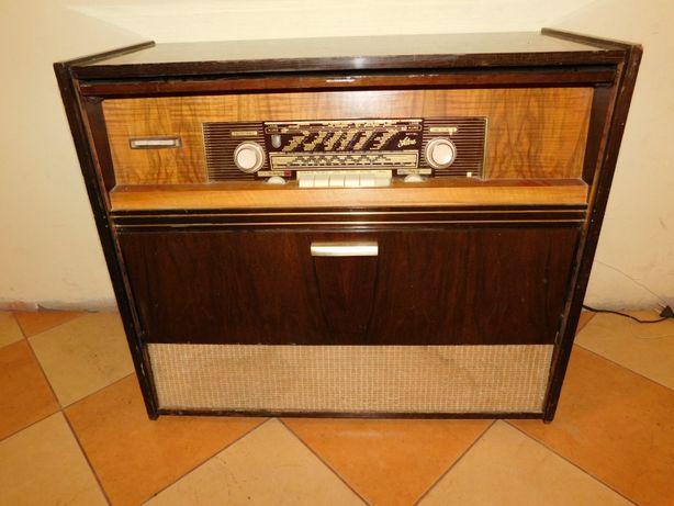 Radio lampowe radioodbiornik gramofon dual 1210 antyk