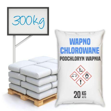 Wapno chlorowane, podchloryn wapnia 300 kg - wysyłka cała Polska