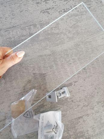 Półka szklana łazienkowa 50 cm
