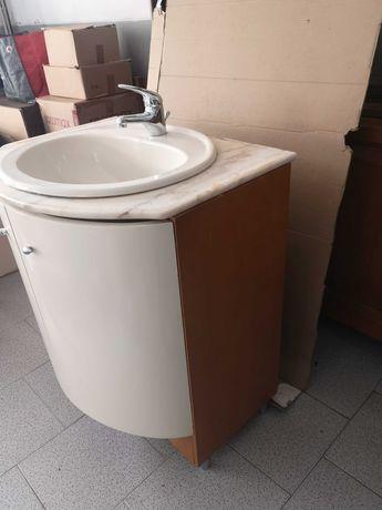 Armário de WC beje