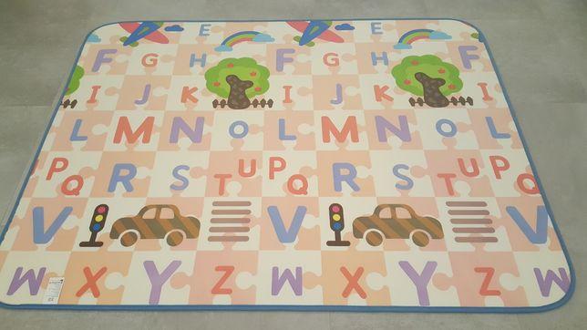 Mata do zabawy Baby Vivo, dwustronna, duża 150x200, kupiona za 49€