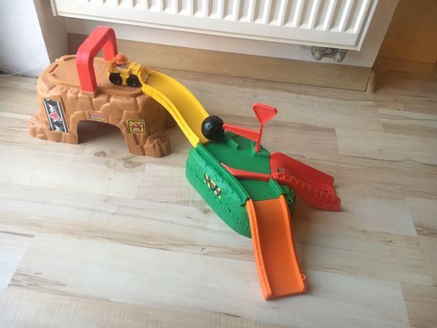 Fisher price - zestaw budowlany przenośny dla małego chłopca